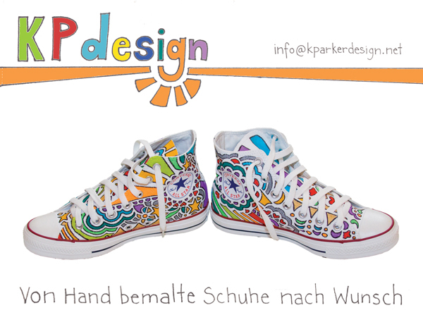 Drawn shoe unique KPdesign made Personalized Drawn you!