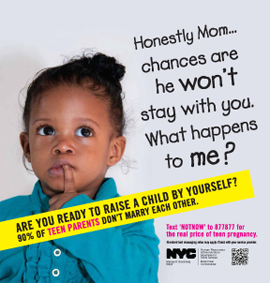 Drawn advertisement unplanned pregnancy Teen more! Shaming and Campaigns