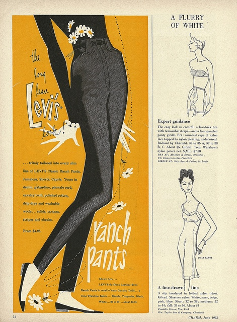 Drawn advertisement vintage style On fashion advertisements advertisements this