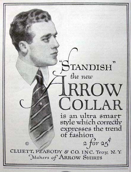 "Drawn advertisement vintage style About new best ""Standish"" 1914"