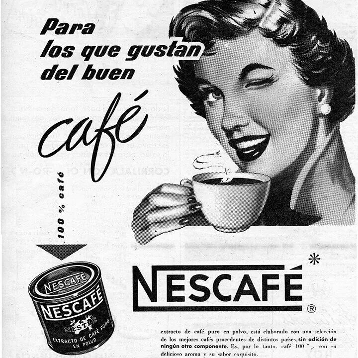 Drawn advertisement vintage style Publicidad Pinterest 77 coffee images