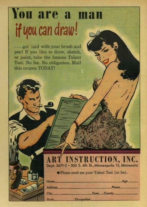 Drawn advertisement vintage style Ads ticket best to you