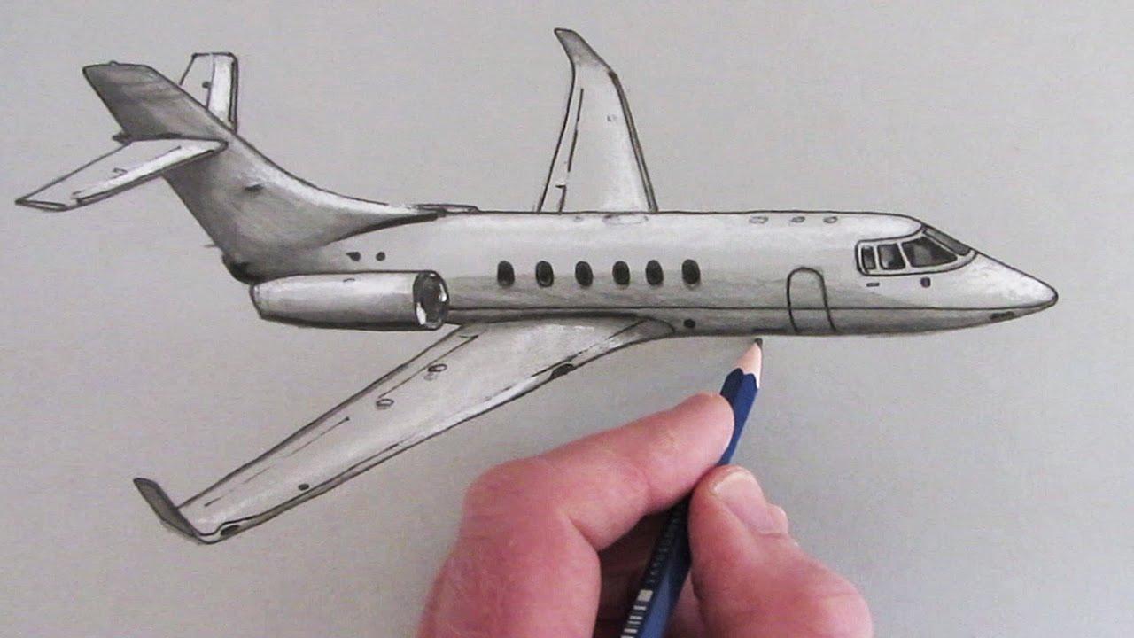 Drawn aircraft How an Airplane Draw