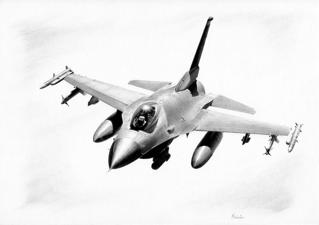 Drawn aircraft car #10