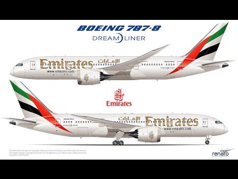 Drawn aircraft emirates #15