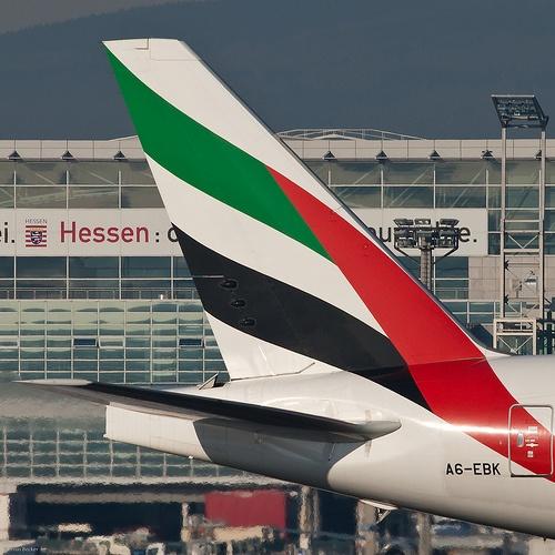 Drawn aircraft emirates #14