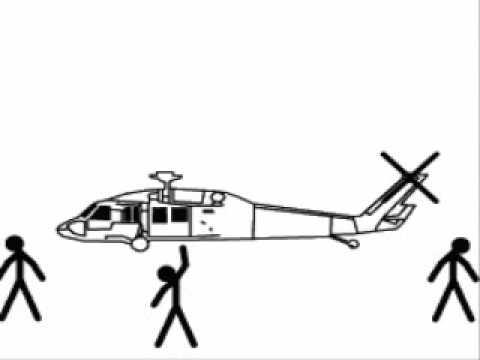 Drawn aircraft stick figure War Stickfigure War Animator) (Pivot