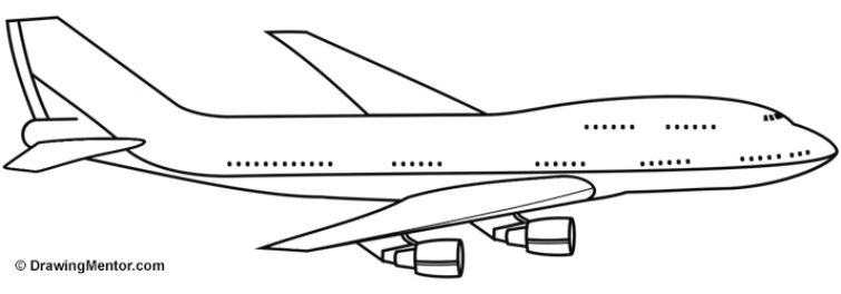 Drawn airplane How Plane Tutorial Draw Draw