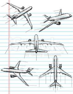 Drawn aircraft car #2