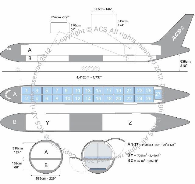 Drawn airplane cargo plane #5