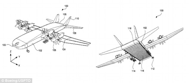 Drawn airplane cargo plane #10