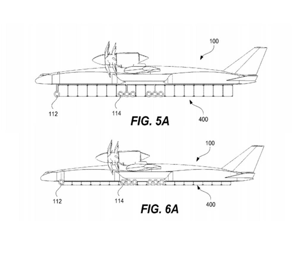 Drawn airplane cargo plane #13