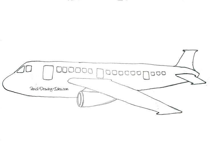 Drawn aircraft easy Pinterest Drawing