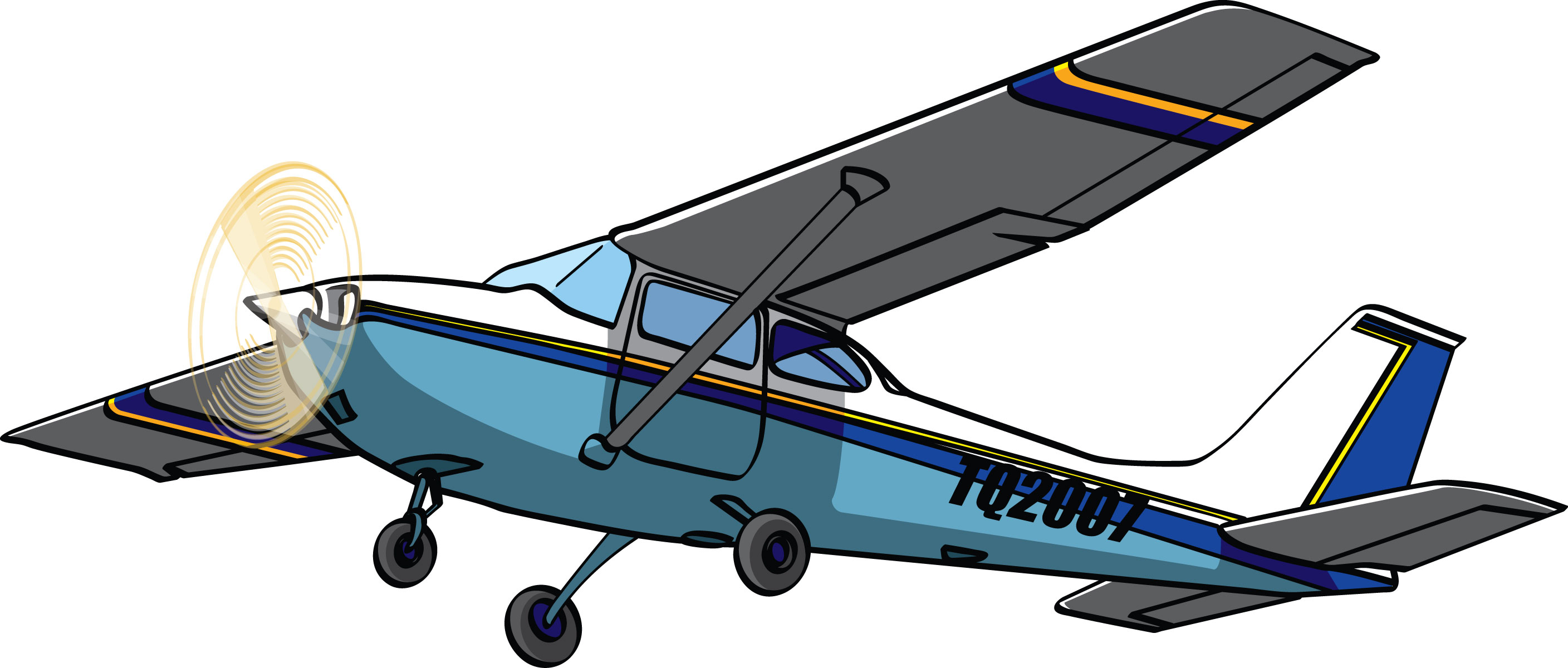 Jet Fighter clipart cessna airplane #10