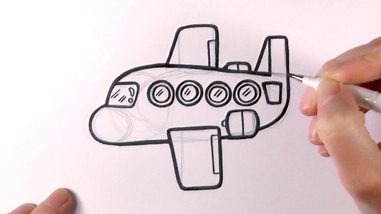 Drawn airplane chibi #12