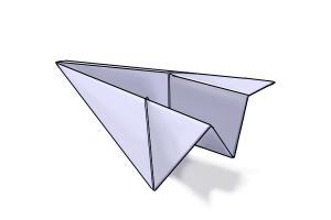 Drawn airplane chibi Paper Airplane to Draw Drawing