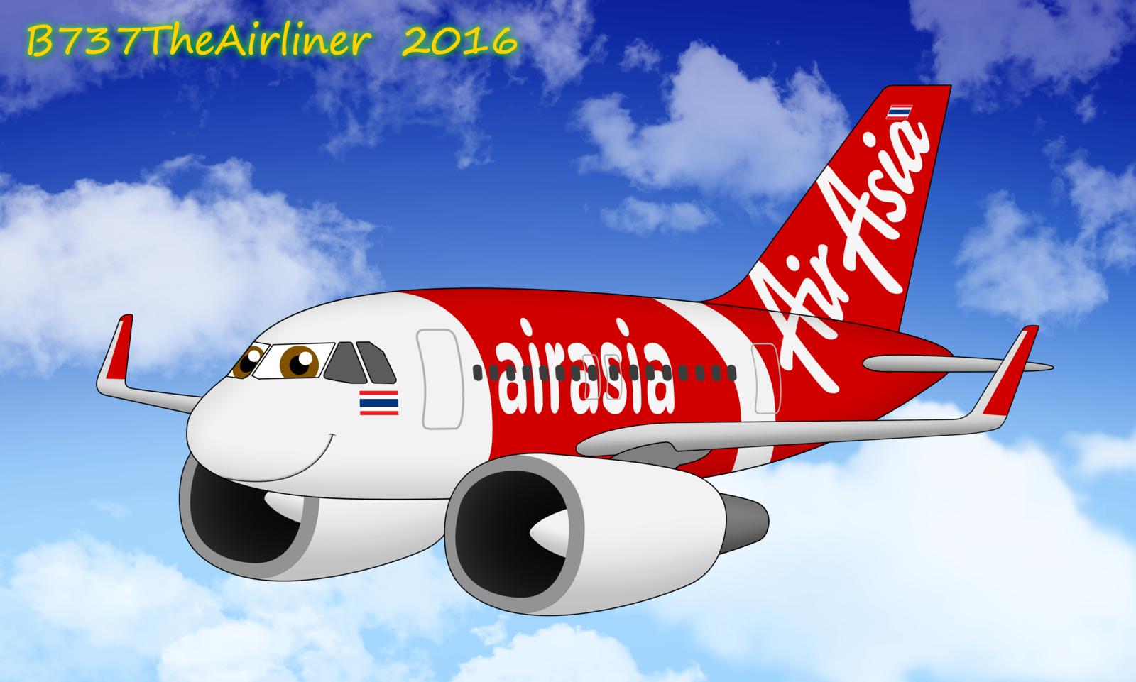 Drawn airplane chibi #4