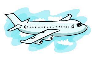 Drawn airplane chibi #2