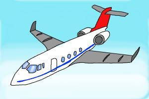 Drawn airplane chibi #10