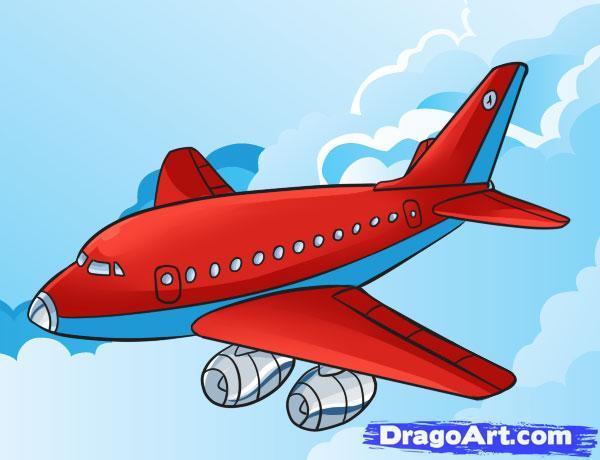 Drawn airplane chibi #5