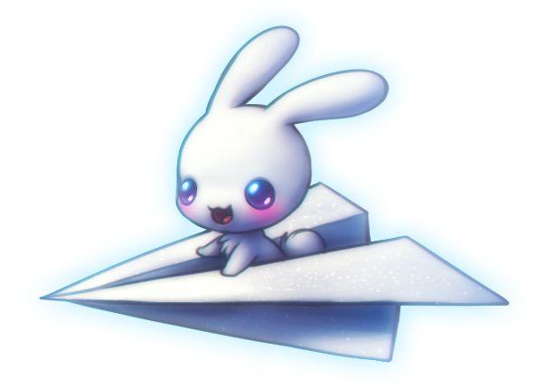 Drawn airplane chibi #3