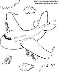 Drawn jet doodle Drawing with Easy Airplane by