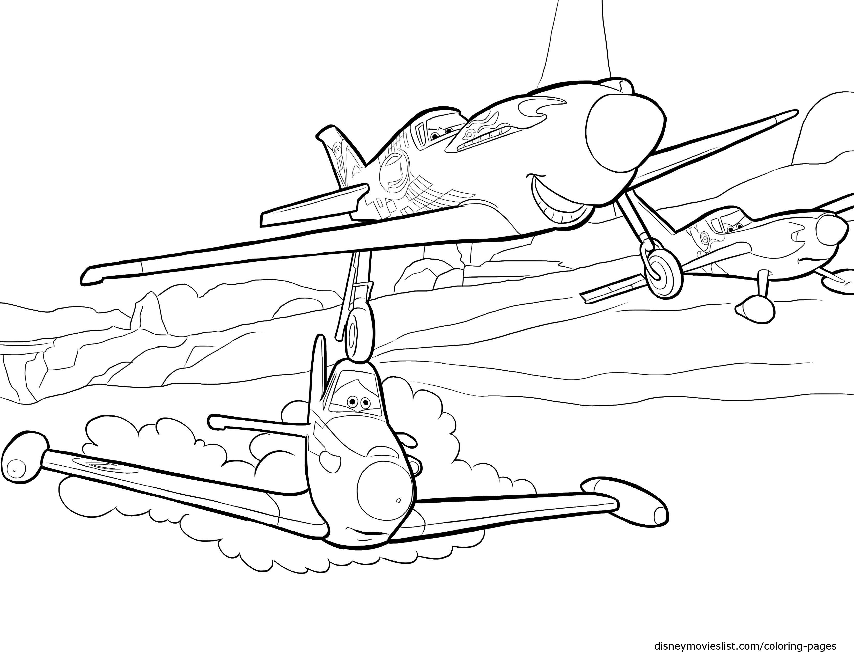 Drawn aircraft coloring page Disney Archives Page Disneys Printable