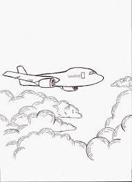 Drawn airplane doodle #3