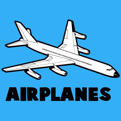 Drawn aircraft easy Tutorial Airplane & with Drawing