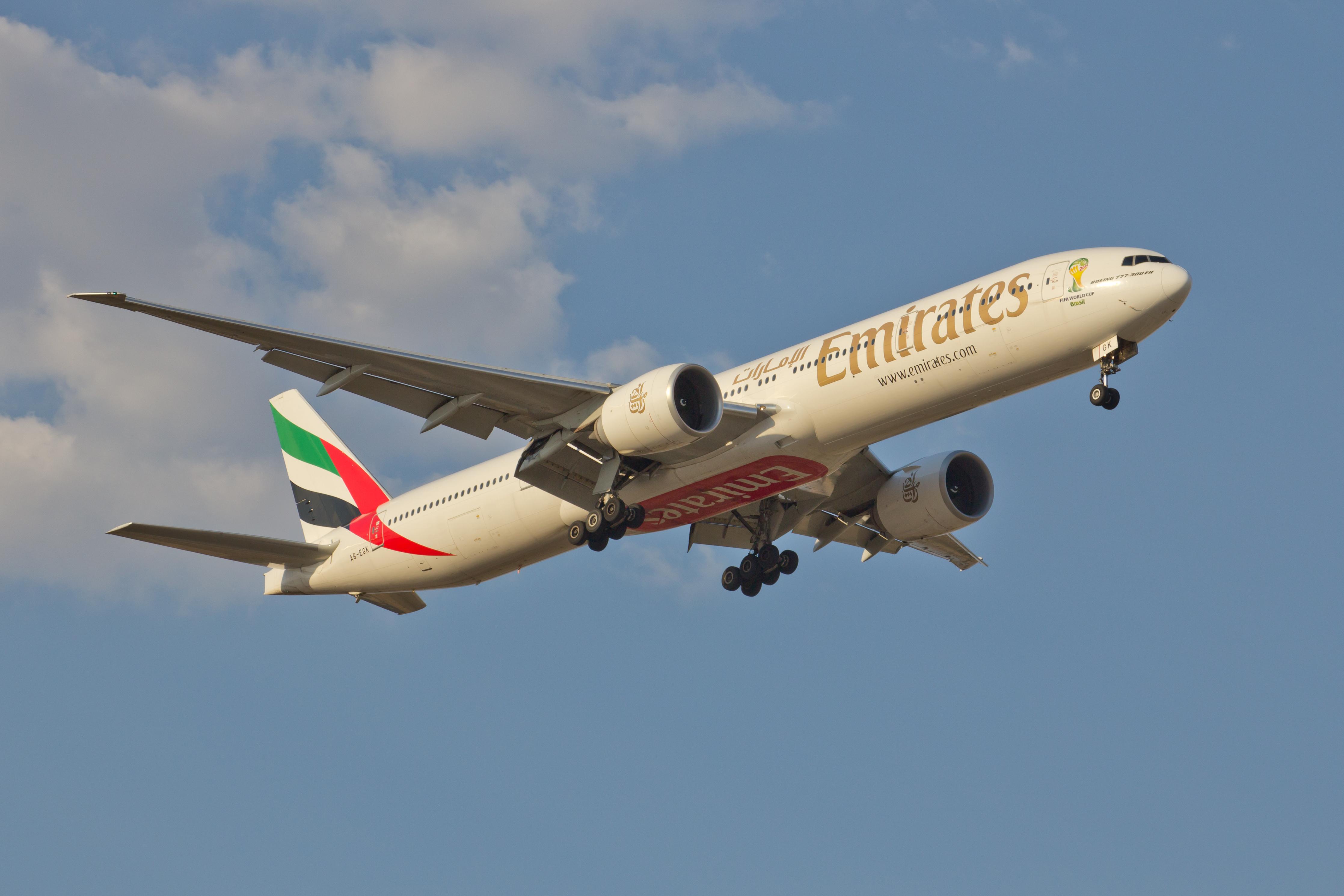 Drawn aircraft emirates #12