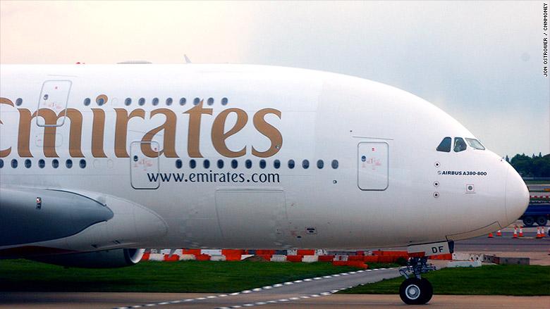 Drawn aircraft emirates #10