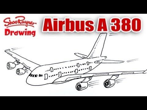 Drawn aircraft emirates #4