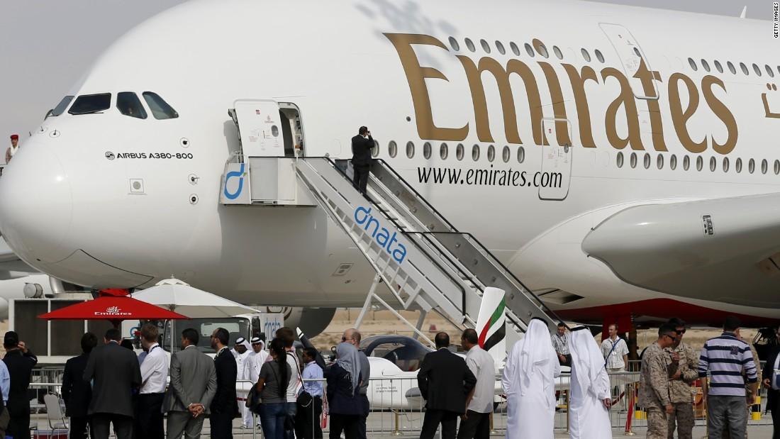 Drawn aircraft emirates #11