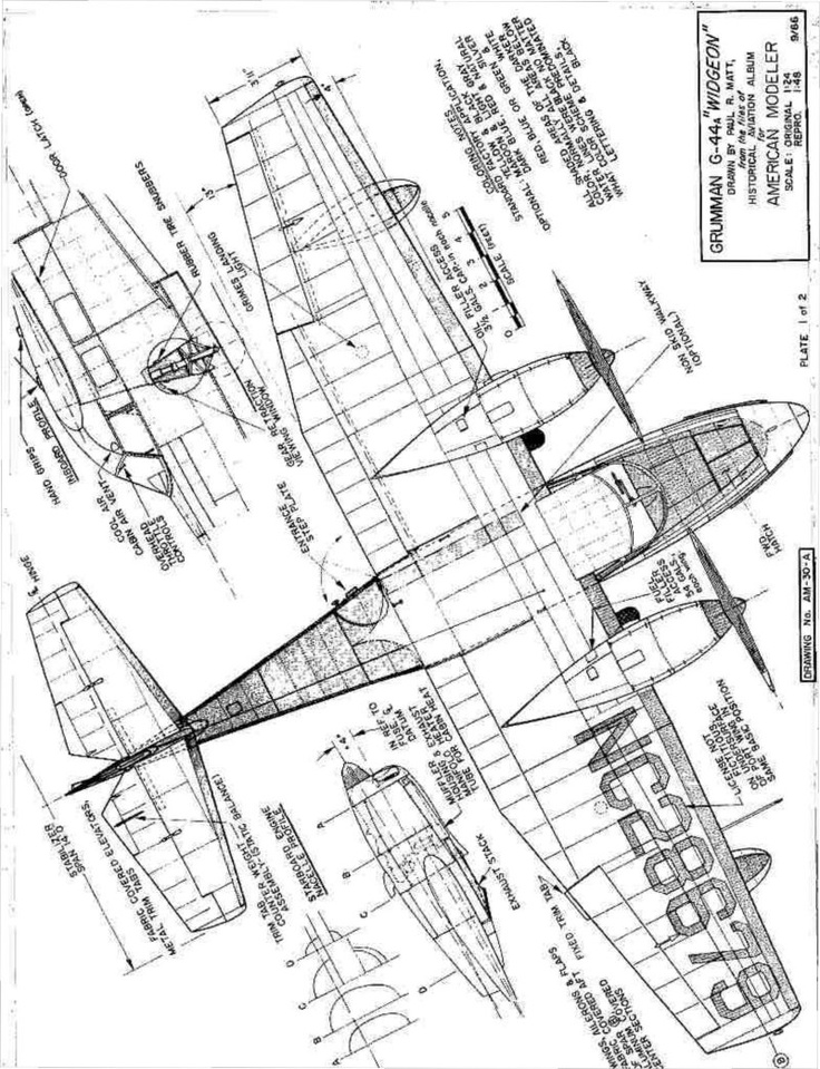 Drawn aircraft first #2