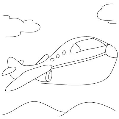 Drawn airplane line drawing & Drawing Adults Cars Lessons