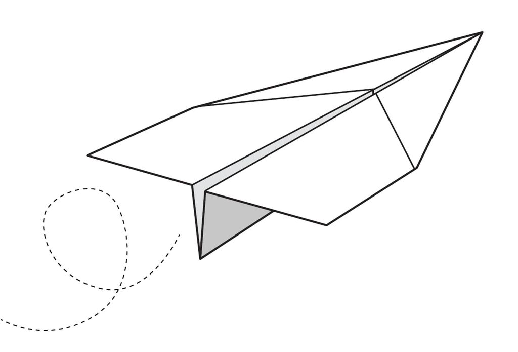 Drawn airplane line drawing Free For aeroplane easy