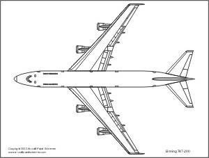 Drawn airplane line drawing FS2004 drawing one too in