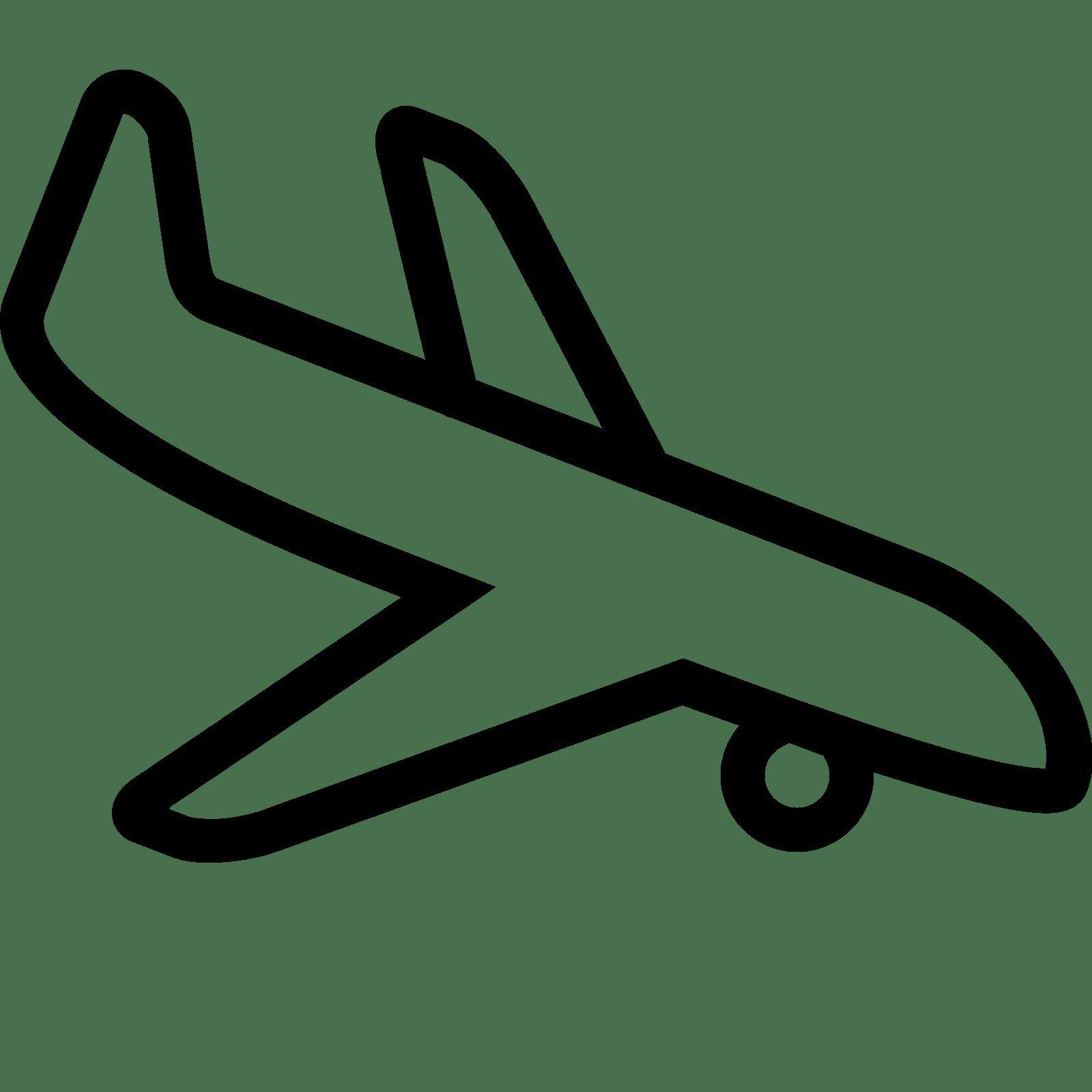 Drawn airplane plane landing And Landing Airplane icon Download