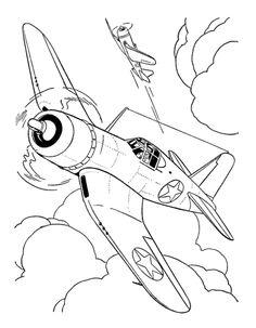 Drawn aircraft ww2 airplane Crafts How Military / Interceptor