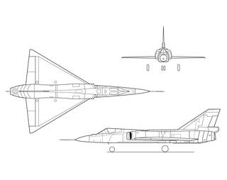 Drawn airplane side view X Demon Sheet: Fighter Armstrong