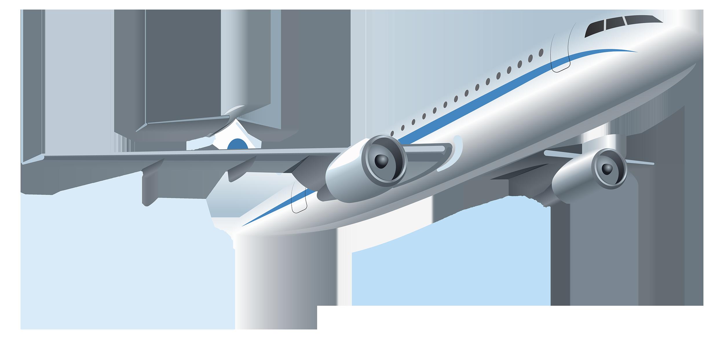 Drawn aircraft transparent background #12