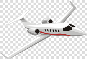 Drawn aircraft transparent background #8