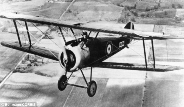 Drawn airplane world war 1 aircraft #9