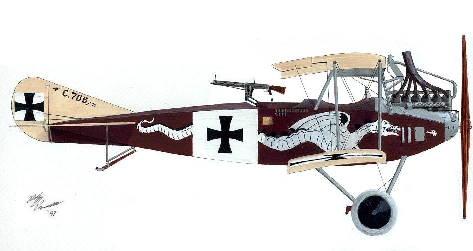 Drawn airplane world war 1 aircraft #7