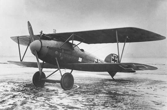 Drawn airplane world war 1 aircraft Albatros a Va German A