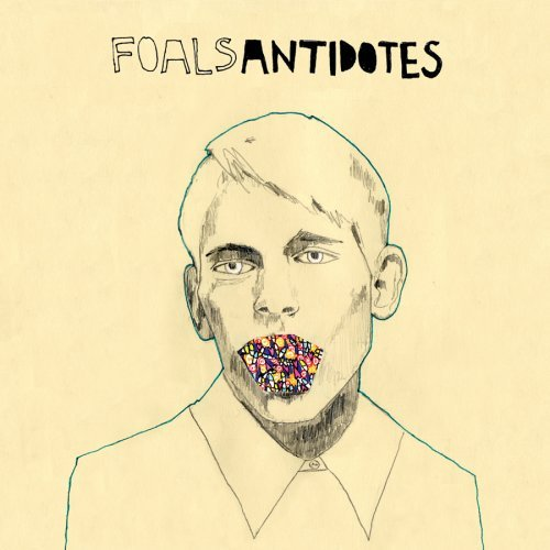 Drawn album cover Foals Covers Alice The Hand