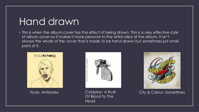 Drawn album cover artistic Razorlight; • This  of