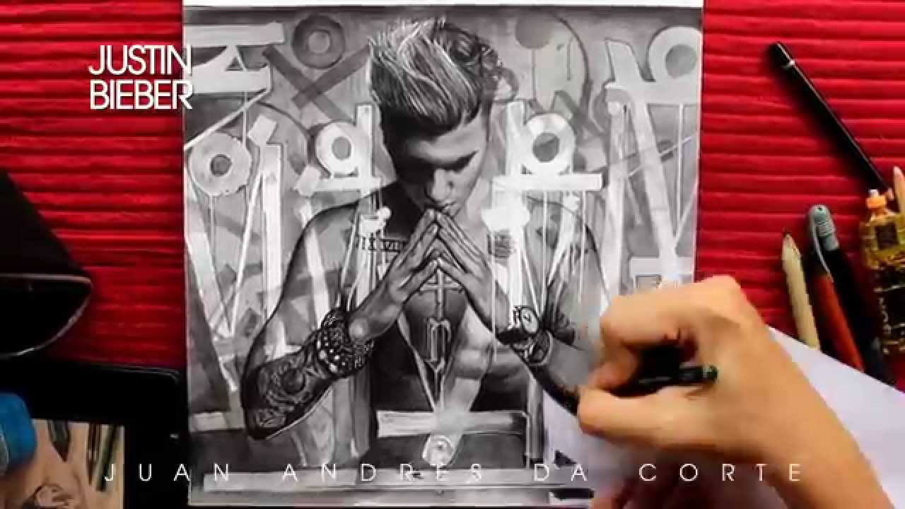Drawn album cover awesome  JUSTIN DRAWING #PURPOSE BIEBER