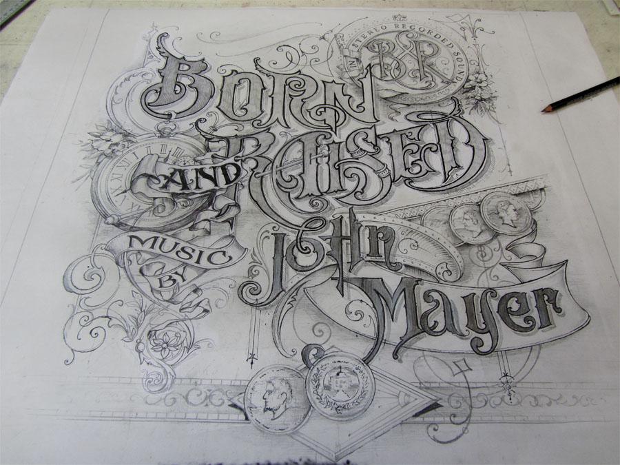 Drawn album cover born and raised Album Raised » Raised and
