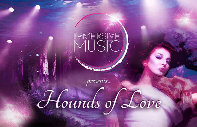 """Drawn album cover hounds love """"multi being of Hounds April"""